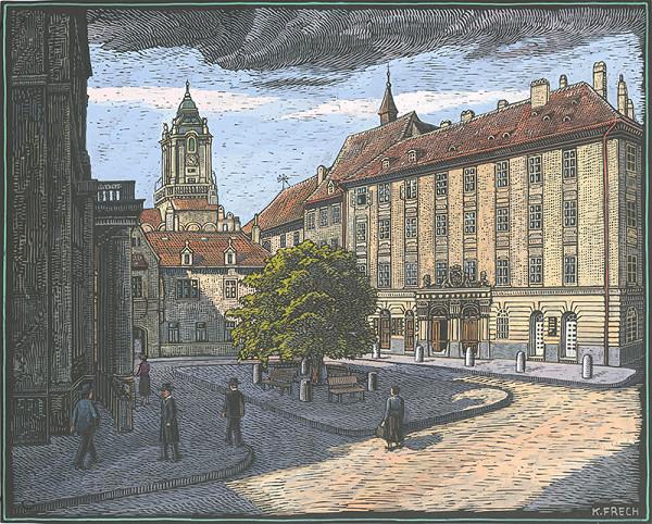 Karol Frech – Primaciálne námestie v Bratislave