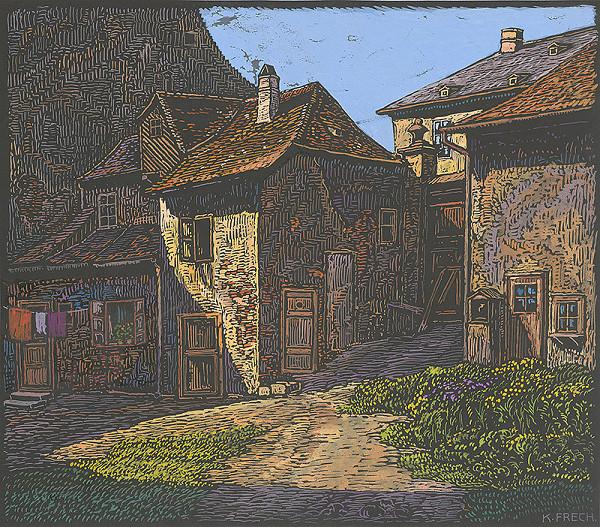 Karol Frech - Huklerov dom na Židovskej ulici v Bratislave