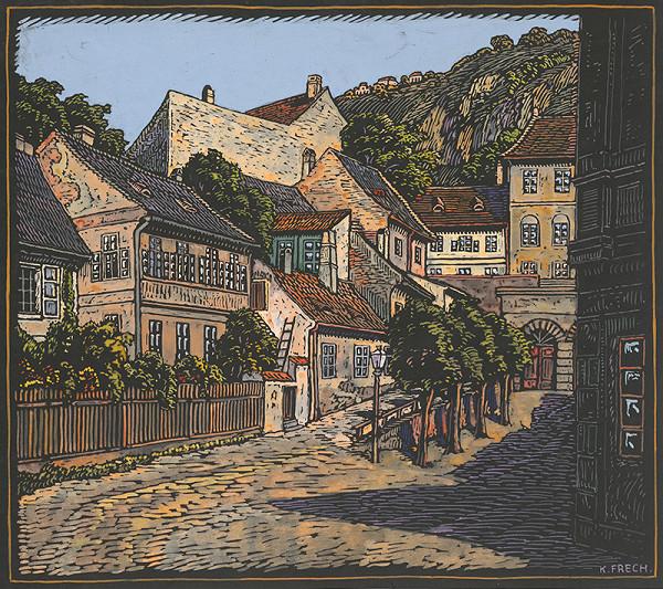 Karol Frech – Štvrť Steinwallhof v Bratislave