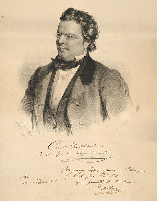 Eduard Kaiser – Portrét C.de Barbiniho-kapelníka