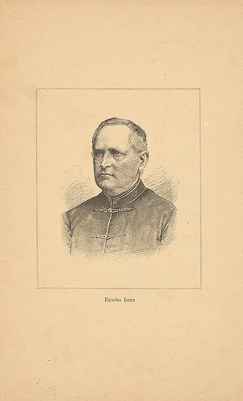 Stredoeurópsky grafik z 19. storočia – Portrét Imricha Erdösiho