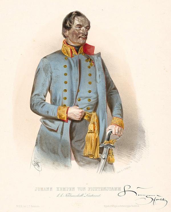 Károly Sterio – Portrét Jána Kempena v. Fichtenstamm