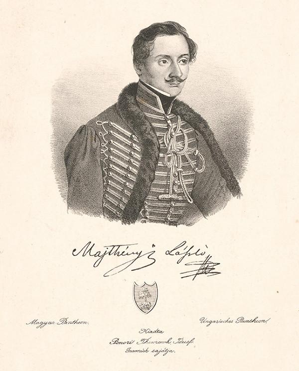 Stredoeurópsky grafik z 19. storočia – Portrét Ladislava Majthényiho