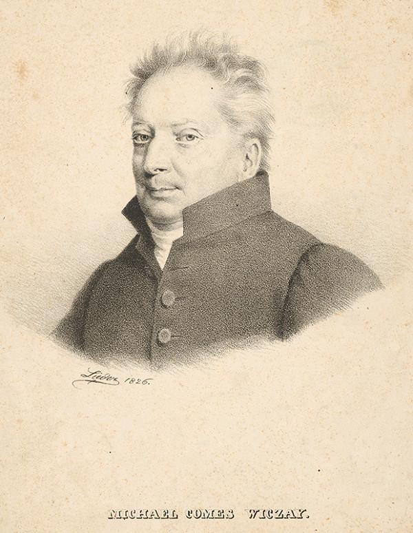 Friedrich Johann Gottlieb Lieder – Portrét grófa Michala Wiczaya