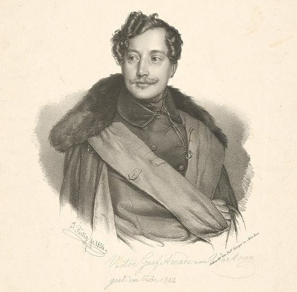 Ignaz Fertig - Portrét grófa V.A. von Varkonyho