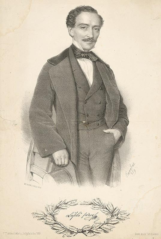 Miklós Barabás – Portrét Jozefa Lászlo