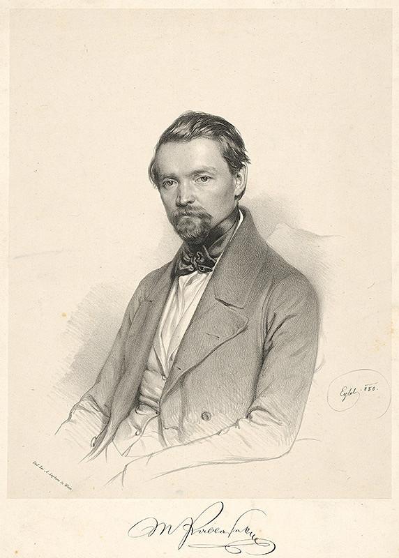Franz Eybl - Portrét M. Pablaseka
