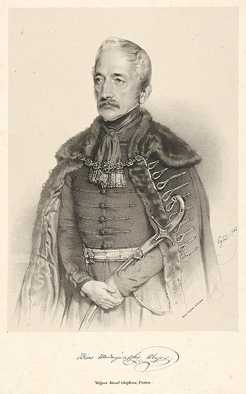 Franz Eybl - Portrét baróna Alojza Mednyanského