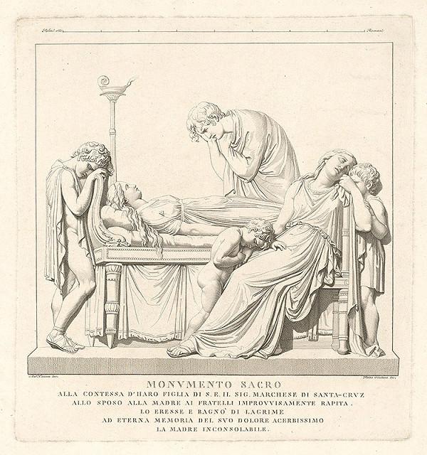 Pietro Fontana, Antonio Canova – Pomník markízy zo Santa Cruz