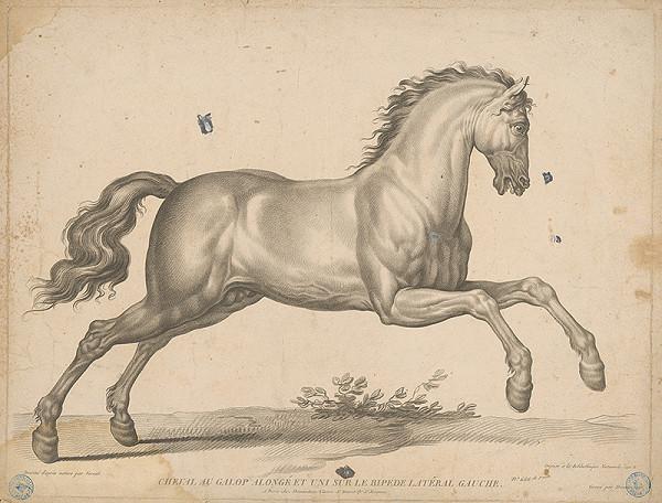 Gilles Antoine Demarteau, Claude-Joseph Vernet – Kôň