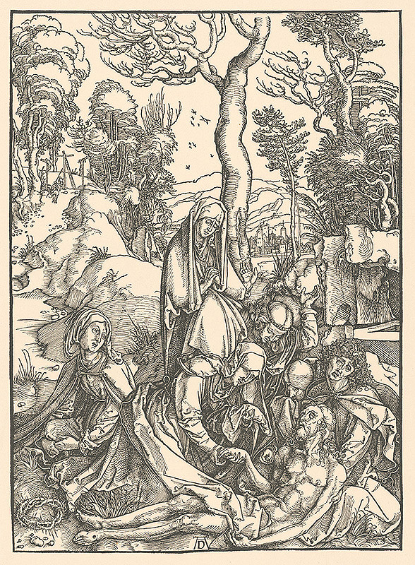 Albrecht Dürer - Oplakávanie Krista (7)