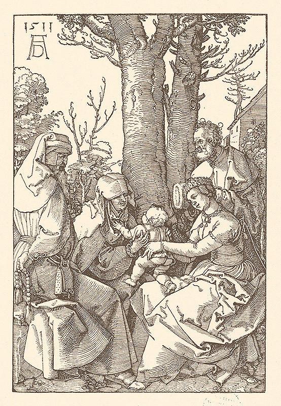 Albrecht Dürer – Svätá rodina s Joachimom a sv. Annou pod stromom