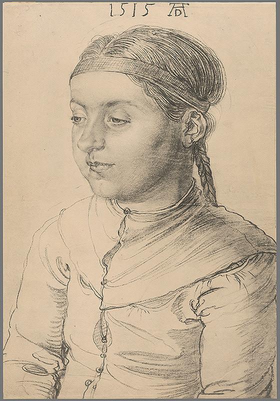 Albrecht Dürer - Portrét dievčaťa