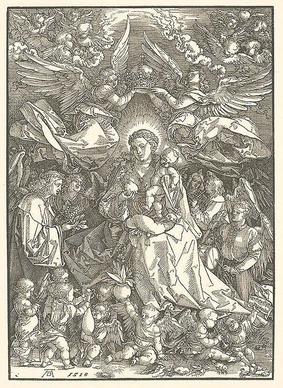 Albrecht Dürer – Panna Mária ako kráľovna anjelov
