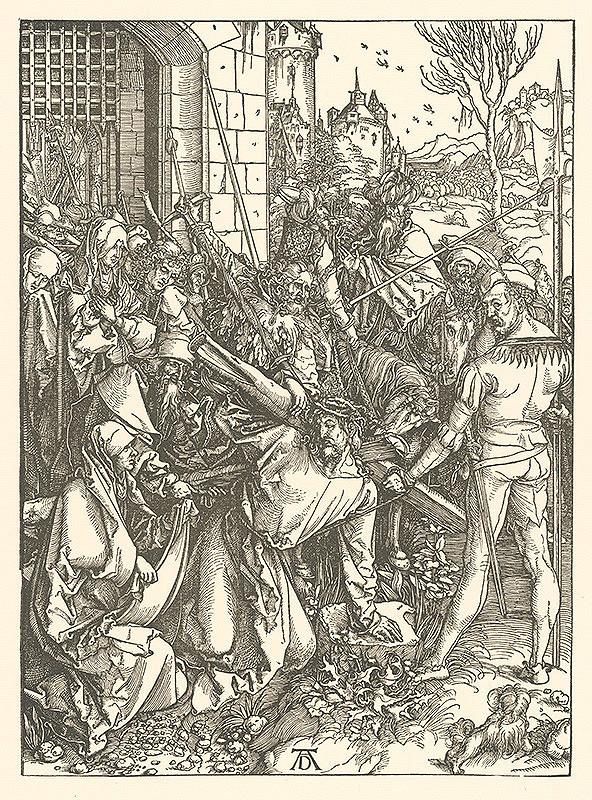 Albrecht Dürer - Nesenie kríža (5)