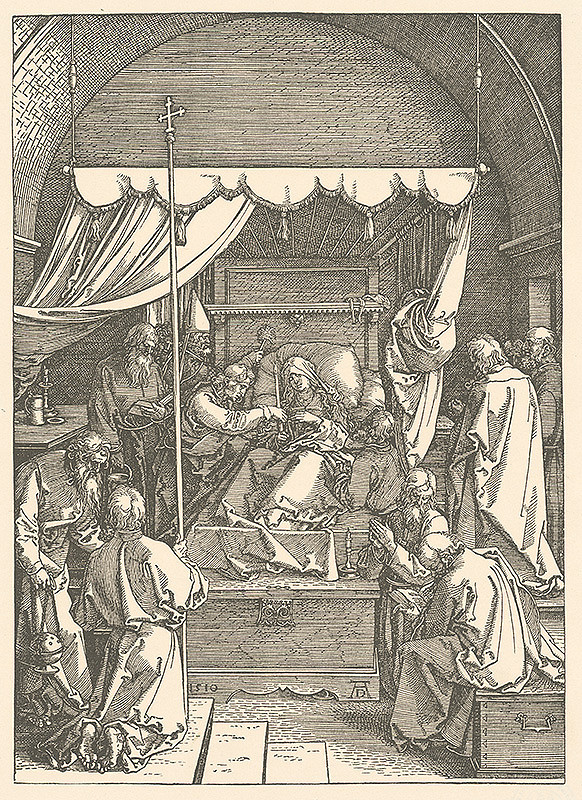 Albrecht Dürer - Smrť Panny Márie (17)