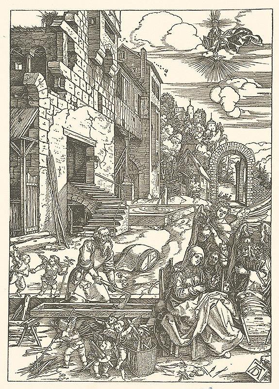 Albrecht Dürer – Odpočinok na úteku do Egypta (14)