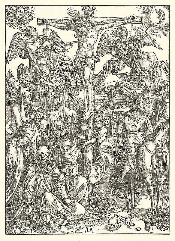 Albrecht Dürer - Ukrižovanie (6)