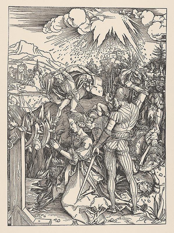 Albrecht Dürer – Mučenie sv. Kataríny