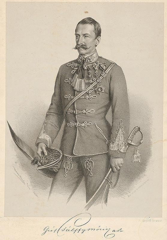 Giuseppe Marastoni – Portrét grófa Mórica Pálffyho