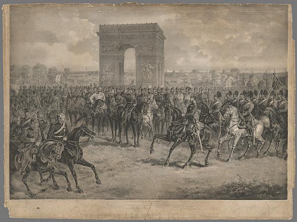 Eduard Kaiser - Pochod Nemcov do Paríža
