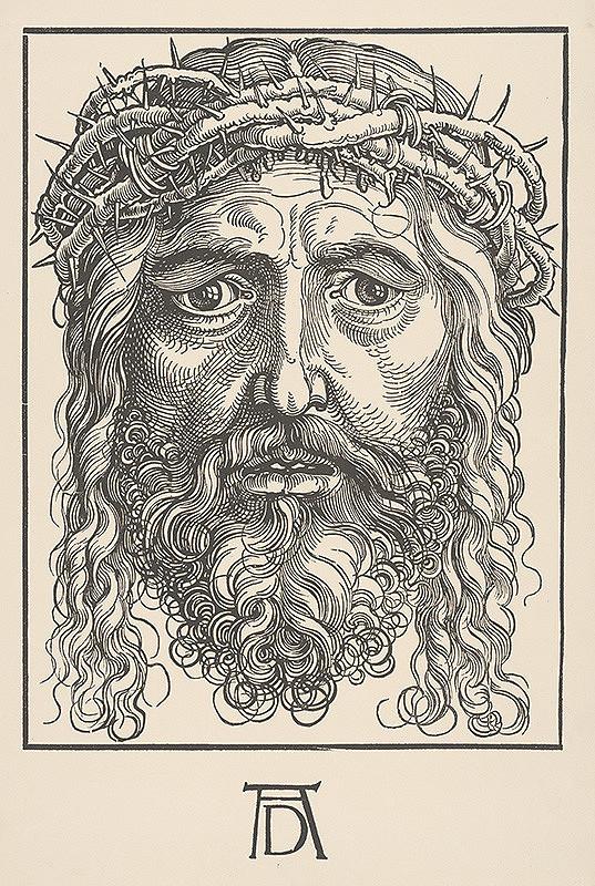 Albrecht Dürer - Kristova hlava