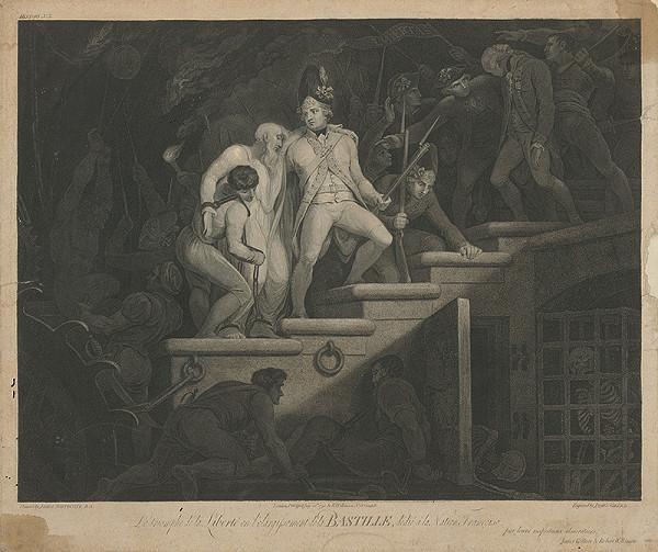 James Gillray, James Northcote - Víťazstvo slobody