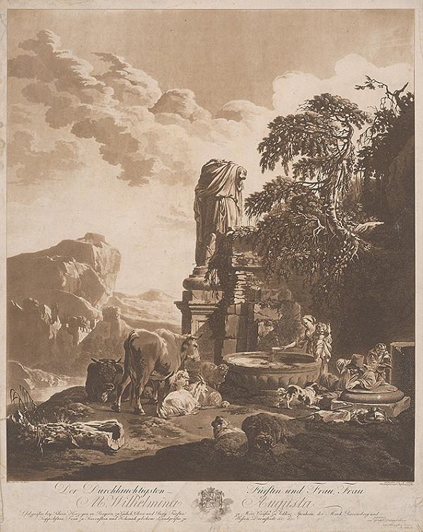 Abel Schlicht, Johann Heinrich Roos – Krajina