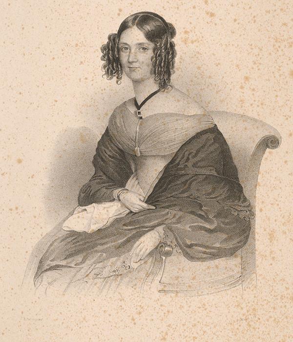 Emanuel Thomas Peter – Podobizeň neznámej ženy