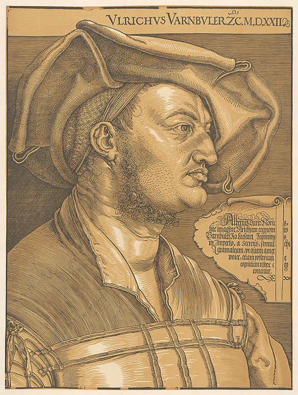 Albrecht Dürer – Portrét Ulricha Varnbulera