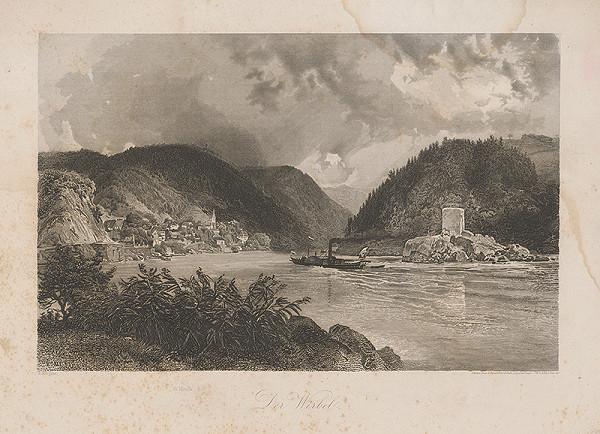 Rudolf Alt – Pohľad na Dunaj