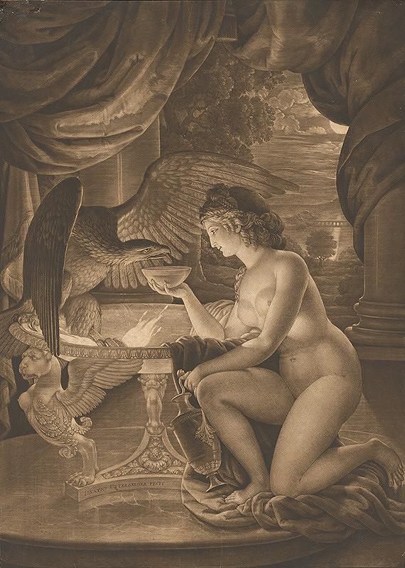 Ignaz Unterberger, Wilhelm von Kaulbach - Napájanie orla