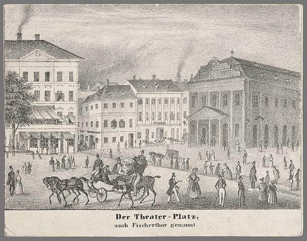Antal József Strohmayer, Johann Höfelich, C.F. Wigand - Divadelné námestie v Bratislave