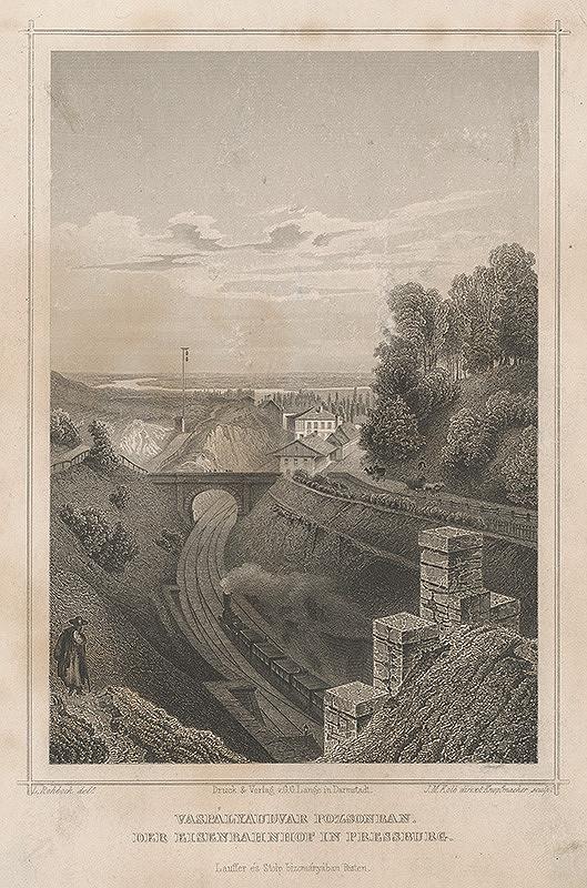 Ludwig Rohbock – Železnica pri Bratislave
