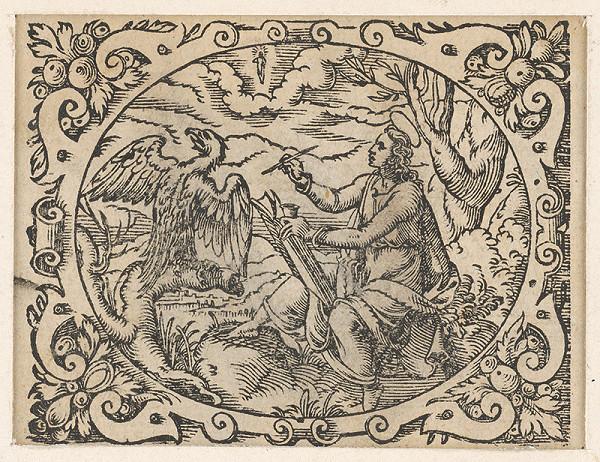 Stredoeurópsky grafik z 2. polovice 17. storočia - Ján evanjelista
