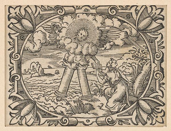 Stredoeurópsky grafik z 2. polovice 19. storočia - Ilustrácia z Biblie - Apokalypsa