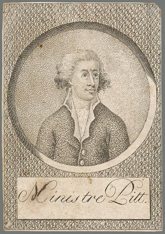 Stredoeurópky grafik z 2. polovice 18. storočia – Minister William Pitt ml.