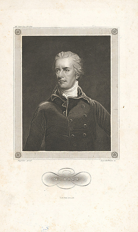 Ludwig Hoffmann, Joshua Reynolds – Portrét W. Fitta