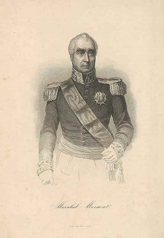 August Weger – Portrét maršala Marmonte