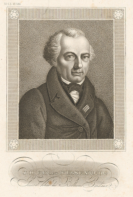 Stredoeurópsky grafik z 19. storočia – Portrét Essenberge