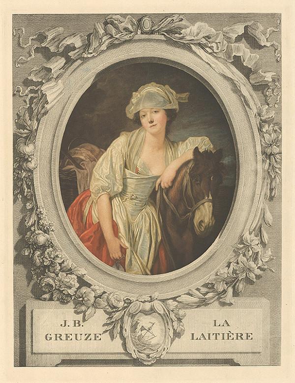 Jean Baptiste Greuze – Portrét ženy