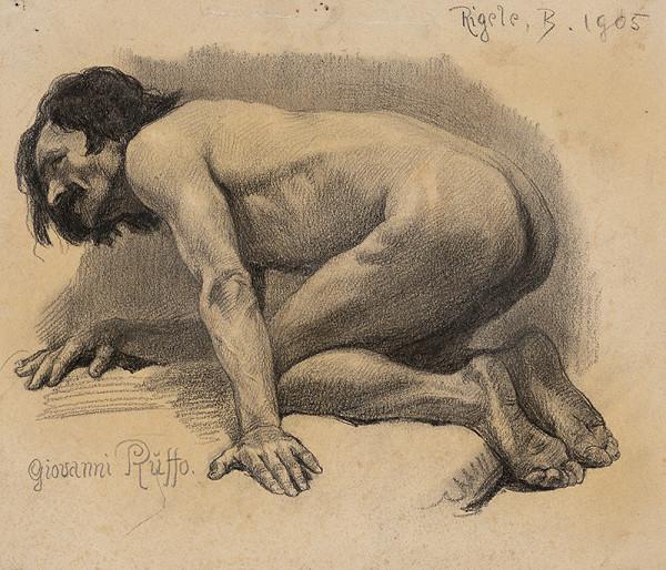 Alojz Rigele - Štúdia mužského aktu