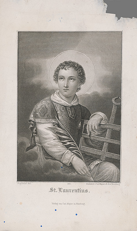 Carl Mayer, Charles Abraham Chasselat – Sv. Vavrinec