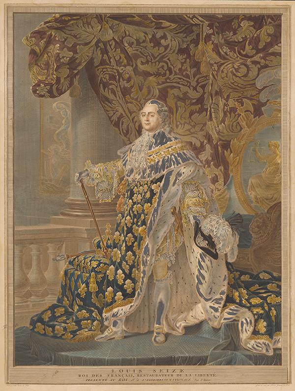 Charles-Clément Bervic, Antoine Francois Callet – Ľudovít XVI.