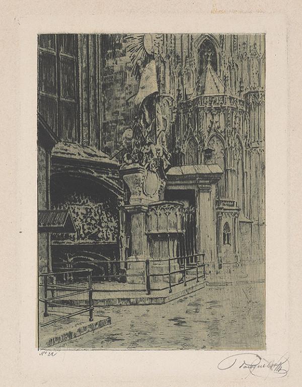 Stredoeurópsky grafik z 20. storočia - Časť gotického chrámu