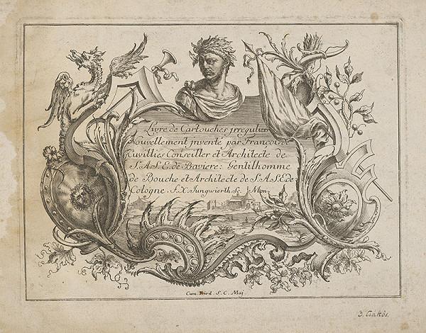 Franz Xaver Andreas Jungwirth – Titulný list knihy kartuší