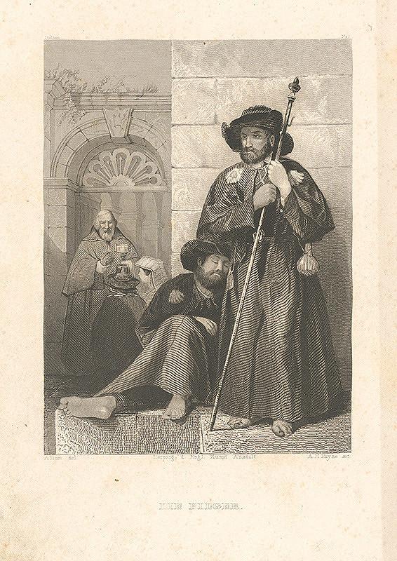 Albert Henry Payne, Thomas Allom - Pútnici