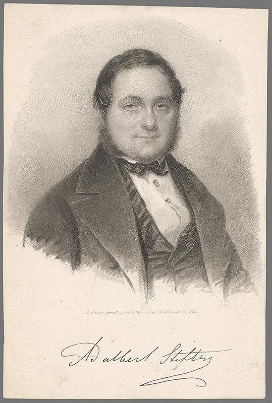 Carl Mahlknecht, Moritz Michael Daffinger – Portrét Adalberta Stiftera