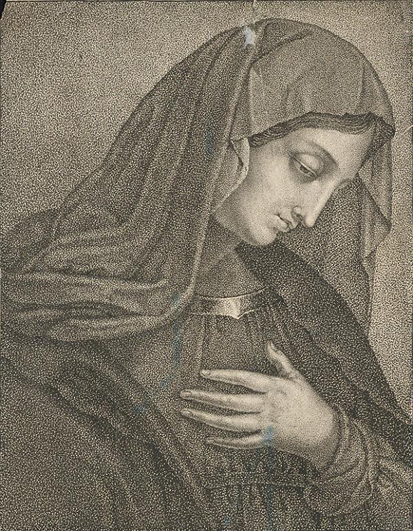 Stredoeurópsky autor z 19. storočia – Panna Mária