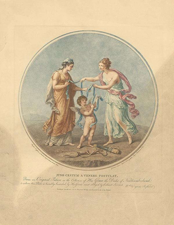 Gutistmus Wynne Ryland, Angelica Kauffmann - Juno a Venuša